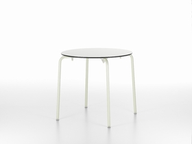 6 HAL Table (white Table Top And Ivory Base), Jasper Morrison(2010) © Vitra