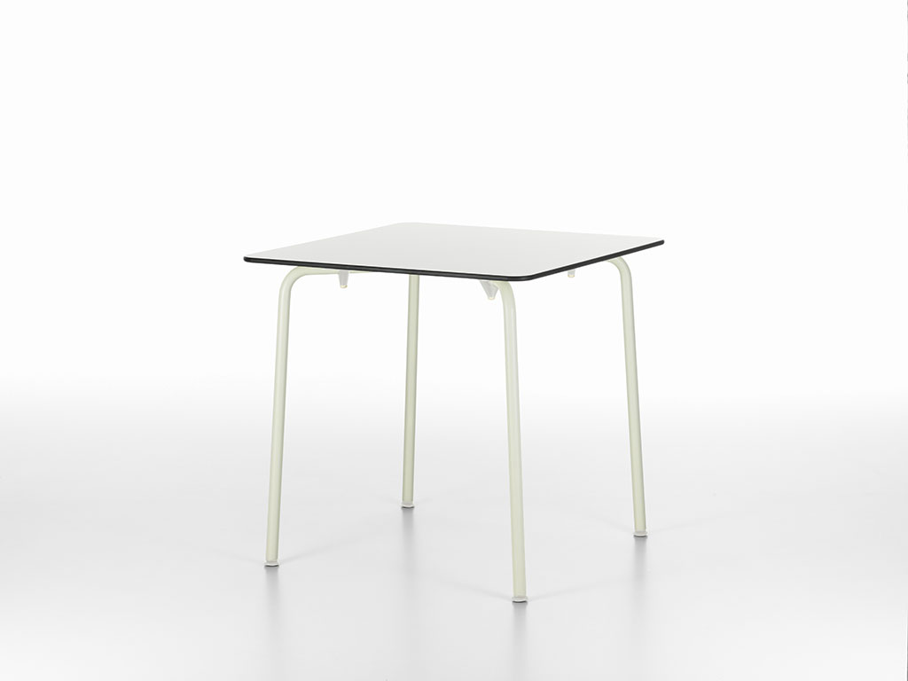5 HAL Table (white Table Top And Ivory Base), Jasper Morrison(2010) © Vitra