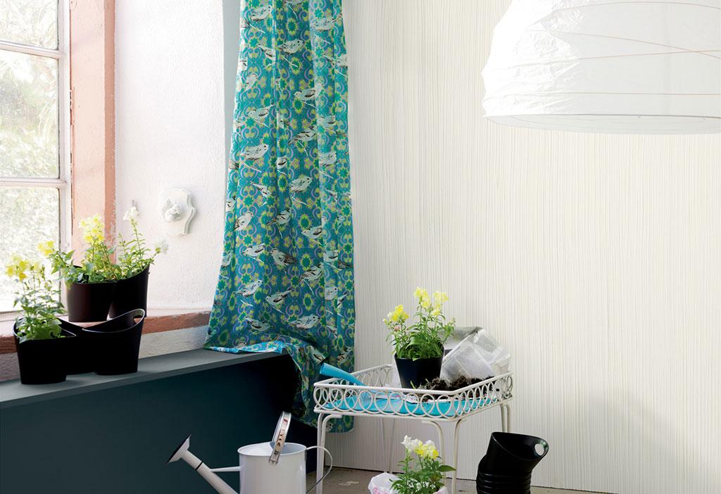 Weiße Wände lassen Farben strahlen und besonders frisch wirken