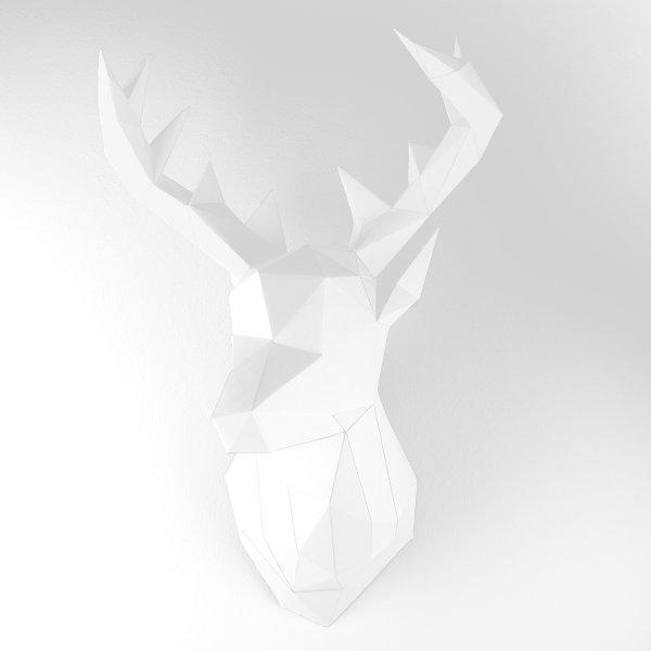 Ein prachtvoller Hirschkopf ganz ohne Jagd: Das ist Jägerlatein im neuen Design