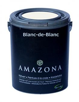 Kreidefarbe Weiß Farbe für Antiklook Shabby Chic - 750ml. - 1