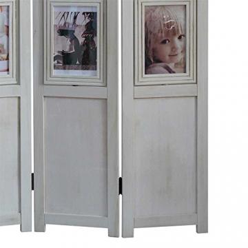 bilder paravent in wei shabby chic pharao24 wohnen in wei. Black Bedroom Furniture Sets. Home Design Ideas