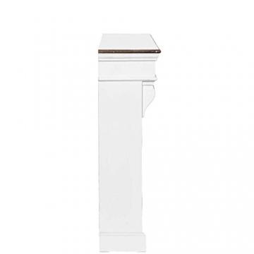 kaminumrandung wei wohnen in wei. Black Bedroom Furniture Sets. Home Design Ideas
