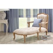 Chaise Lounge French long chair, 71x132x100cm