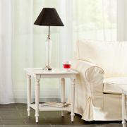 Couchtisch Dorothee 50x50x55cm, white, 50x50x55cm