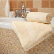 Handtuch Evora creme, 70x140 cm