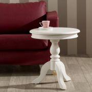 Tisch Lara weiss, o50cm