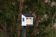 Wildlife Garden, Futterbox für Eichhörnchen, weiss