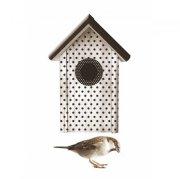 Wandtattoo Vogelhaus weiß 2er-Set