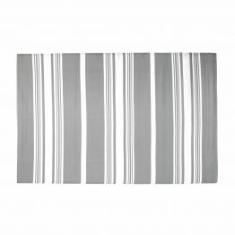 Outdoor-Teppich TRANSAT aus Stoff, 180 x 270cm, grau