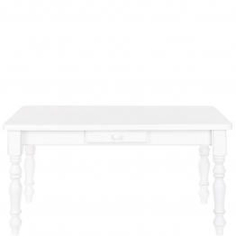 CAMPAGNE Tisch mit Schublade