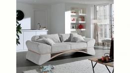 INOSIGN Big-Sofa »Libra« in ungewöhnlichem Design mit geschwungenem Holz