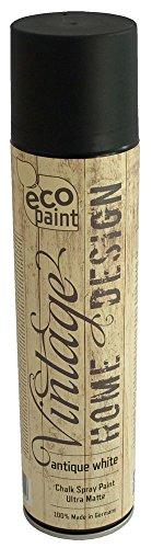 Vintage Kreide Spray antik weiß 400ml Kreidefarbe Chalk Paint Shabby Chic Landhaus Stil Vintage Look - 1