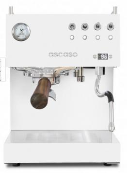 Die Ascaso Steel Duo PID ist eine hochwertig verarbeitete, zweikreisige Espressomaschine mit zwei Hochleistungs-Thermoblocks. Der Hartholz-Siebträger und das moderne Design machen die Maschine zum Hingucker in jeder Küche!