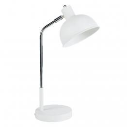 Lampe aus Metall, weiß